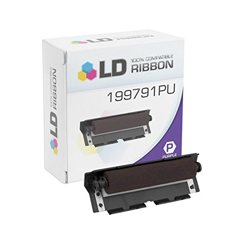 LD Compatible NCR 199791 Purple Ink Roller Cartridge for NCR Printers- 2113-0500, 1000, 1101, 3000 | 2123, 2127 Narrow, 2205, - Ncr Printer Ink