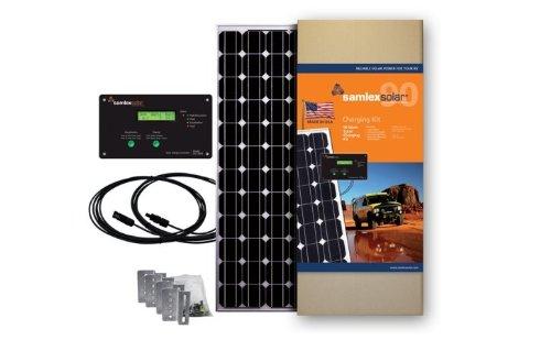 Samlex Solar SRV-90-KITUS Solar Charging Kit by Samlex America