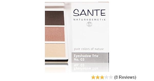 054522bcc16b Amazon.com   Sante Eyeshadow Trio Rose Wood 03