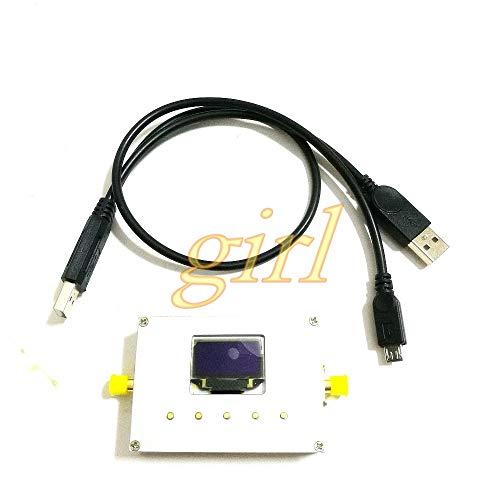 Lysee Spectrum analyzer handheld simple spectrum analyzer 10-6000 MHz RF source power meter - (Color: Freq6000)