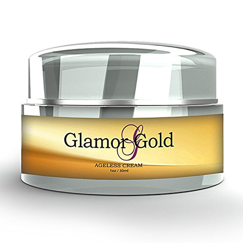 Glamor Gold Ageless Cream- Anti-Aging Skincare for Fine Lines and Wrinkles - Collagen Production - Instant Moisture Cream