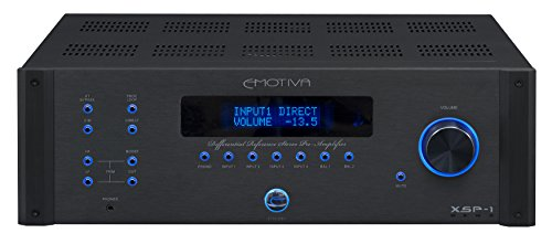 Emotiva Audio XSP-1 Differential Reference Preamp (Audio System Processor Integration)