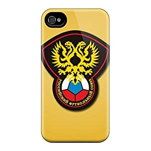 For Iphone 6 Fashion Design Russia Football Logo Cases-MXM18814kDrx