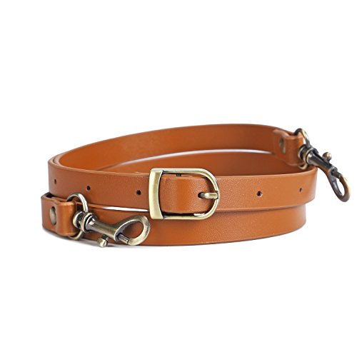placement Strap Brown Split Leather 5/8