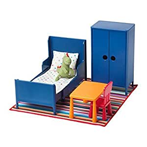 Amazon HUSET Doll furniture bedroom by Ikea Toys
