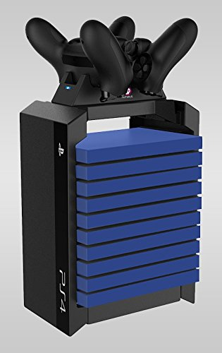 Official Sony PS4 Games Tower & Dual Charger
