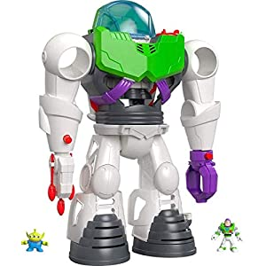 Best Epic Trends 41ocgNQw6mL._SS300_ Fisher-Price Imaginext Playset Featuring Disney Pixar Toy Story Buzz Lightyear Robot