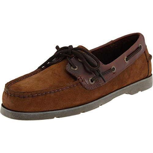 Sperry Men's Leeward Boat Shoe,Brown Buc/Brown,10.5 Medium US from Sperry