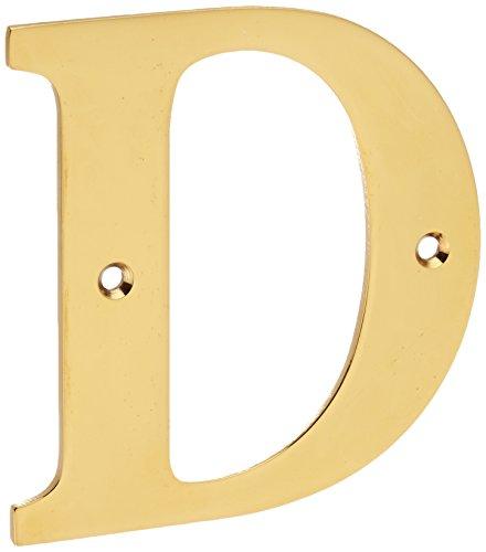 (Deltana RL4D-CR003 4-Inch Residential Letter D House Board)