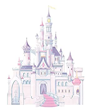 RoomMates Disney Princess Castle Wall Stickers Part 12