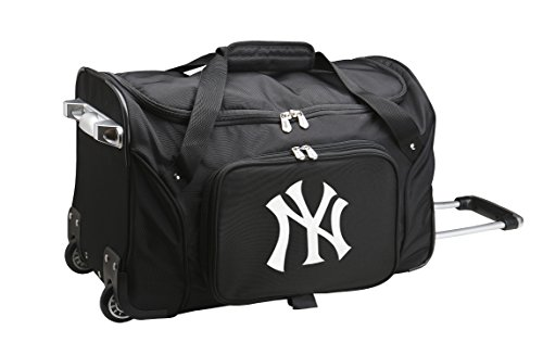 MLB New York Yankees Wheeled Duffle Bag
