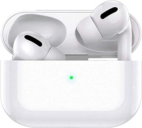 Wireless Earbuds Bluetooth 5.0 Headphones Noise Cancelling Mini Charging Case IPX5 Waterproof in-Ear Earbuds Built-in Mic Stereo Sound with Deep Bass for iPhone/Android/Apple Earbuds