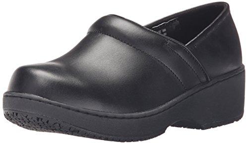 AnyWear Women's MYLA Health Care & Food Service Shoe, Black, 8 M US ()