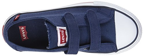 Levis Trucker Low Velcro - Botas Niños Bleu (Navy)