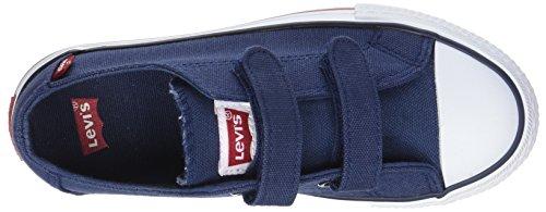 Levi's Trucker Low Velcro - Botas Niños Bleu (Navy)