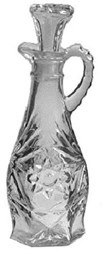 Anchor Hocking Prescut Clear Glass ( 7 1/2