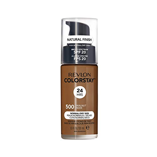 Revlon ColorStay Liquid Foundation For Normal/dry Skin, SPF 20, Walnut, 1 Fl Oz