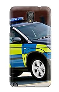 Tpu Case For Galaxy Note 3 With Lexus Police Car