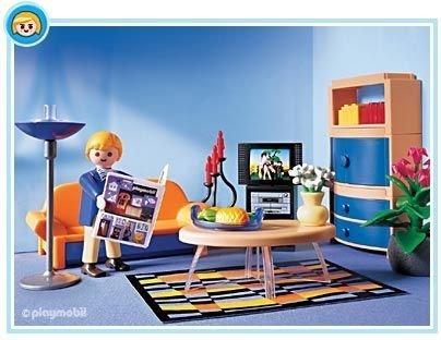 Playmobil - 3966 - La Maison Moderne - Salon Contemporain ...