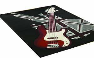 Flair Rugs - Alfombra (160 x 225), diseño de guitarra eléctrica