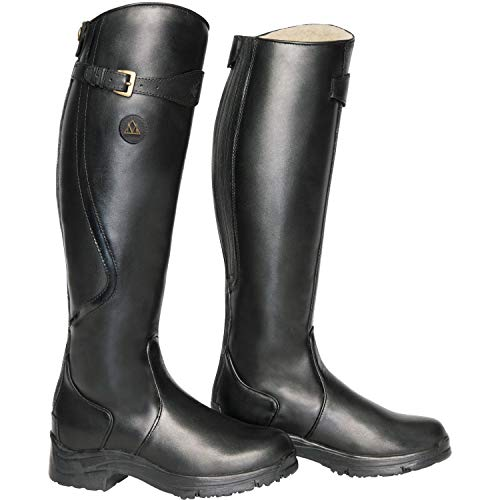 HORSE RIVER Winter Reitstiefel schwarz Unisex Regular SNOWY MOUNTAIN fCdqC