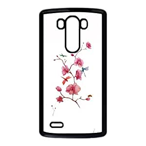 Orchids LG G3 Cell Phone Case Black JU0028750