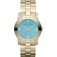 Marc by Marc Jacobs Amy Dexter Aqua Dial Gold Watch MBM3220 from Marc Jacobs