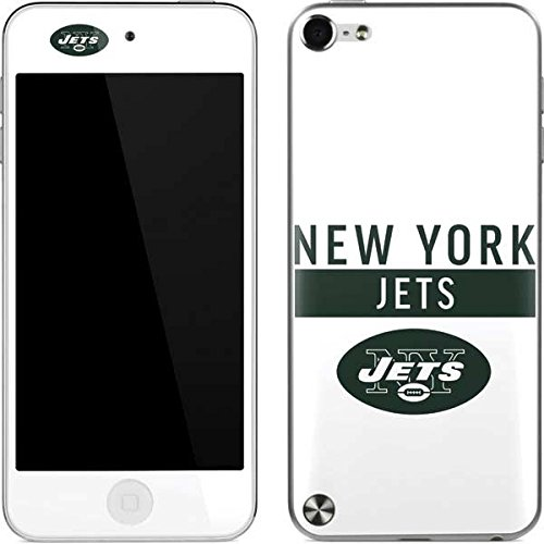 Skinit NFL New York Jets iPod Touch (5th Gen&2012) Skin - New York Jets White Performance Series Design - Ultra Thin, Lightweight Vinyl Decal Protection (York Ipod Skin Jets New)
