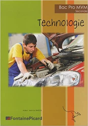 Livre Technologie 2e bac pro MVM epub pdf