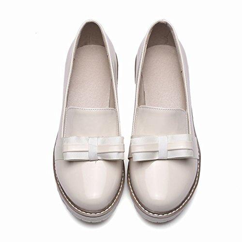 Mostrar Shine Mujeres Chic Arcos Slip On Mocasines Zapatos Off White