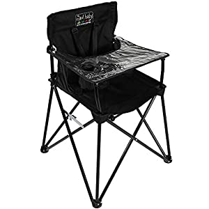 ciao! Baby Portable High Chair, Black, by Ciao! Baby 5