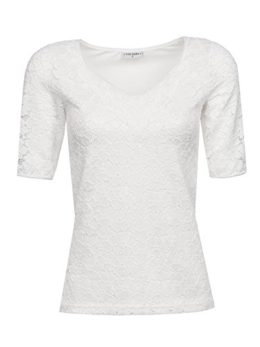Vive Maria Romantic Lace Shirt Weiss