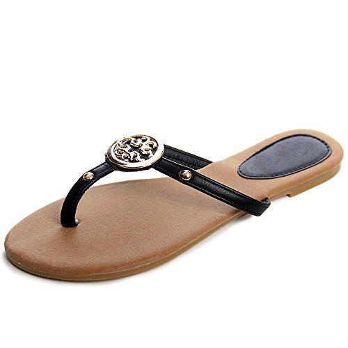 topschuhe24 - Sandalias de vestir para mujer negro - negro