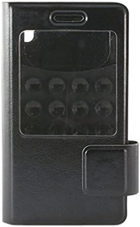 Ksix BXFU12T5.5N - Funda folio con ventosa para smartphone de 5.5 ...