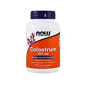 Amazon.com: Now Supplements, Colostrum 500 mg, Naturally ...