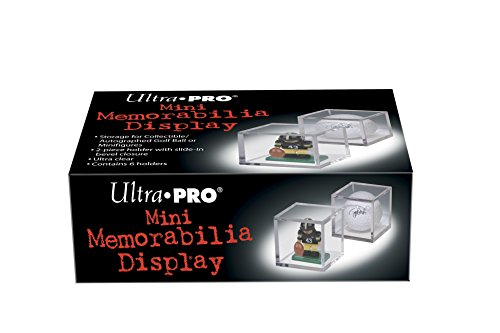 Ultra Pro Mini-Figure and Golf Ball Clear Square Holder - Golf Sport Figure