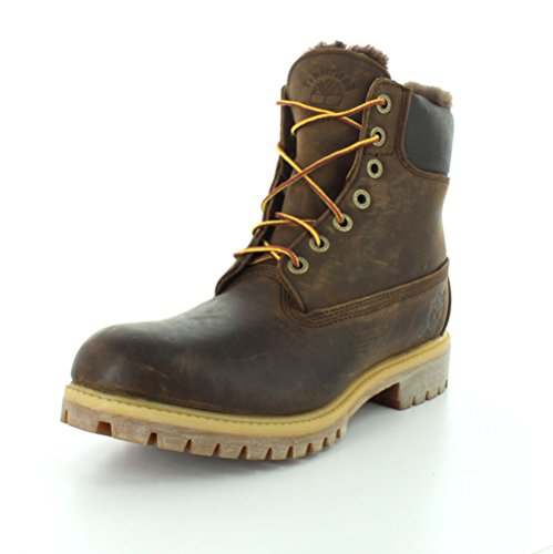 Work Timberland Inch Boot Lt Heritage Brn Mens Nb Lining Shearling 6 xxHgr