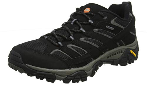 Merrell Women's Moab 2 GTX Hiking Shoe (9 B(M) US, Black)