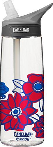 CamelBak eddy Water Bottle, .75L, Color Block Floral - 0.75l Camelbak Water Bottle
