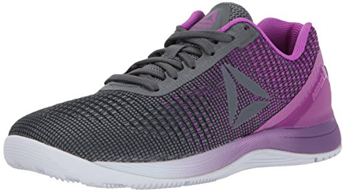 Reebok Women's Crossfit Nano 7.0 Track Shoe, Alloy/Vicious Violet/White, 8 M US