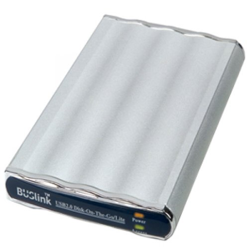 BUSlink DL-320-U2 Disk-On-The-Go 320 GB 2.5 inch External Hard Drive - USB 2.0 - 5400 rpm