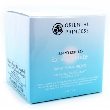 Oriental Princess Lumino Complex Expert White Night Moisturiser 50g for all skin types