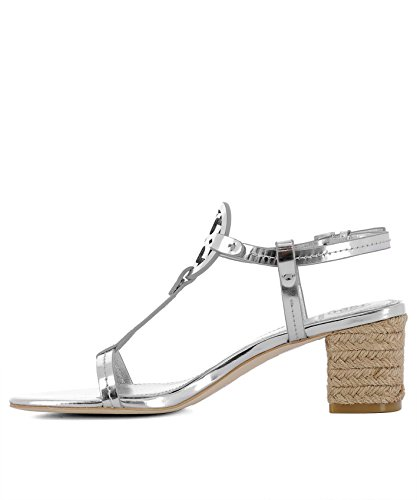 Tory Burch Ladies 47744040 Sandali In Pelle Argento