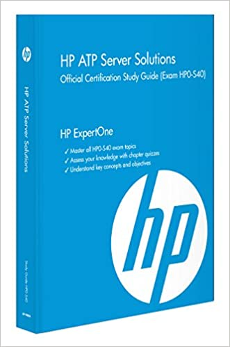 HP ATP Server Solutions Official Certification Study Guide (Exam HP0 ...