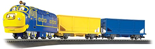 (Bachmann Industries Chuggington Ready To Run Electric Train Set Brewster's Cargo Caper)