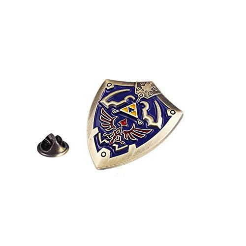 Zelda Pin - Hylian Shield Pin - Zelda Brooch - Hylian Shield Brooch