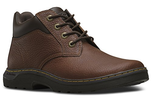 Brown Tumbled Leather Air (Dr. Martens Men's Esteem Work Boots, Brown Leather, 11 M UK, 12 M US)