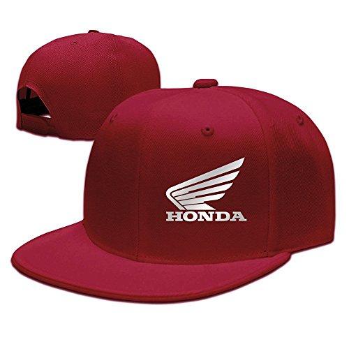 Honda De Gran Ala Logo Gorra de béisbol negro Rojo