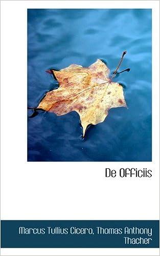 Book De Officiis