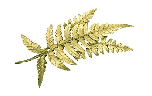 ''Fern'' Pin/ Brooch By Michael Michaud for Silver Seasons… by Michael Michaud